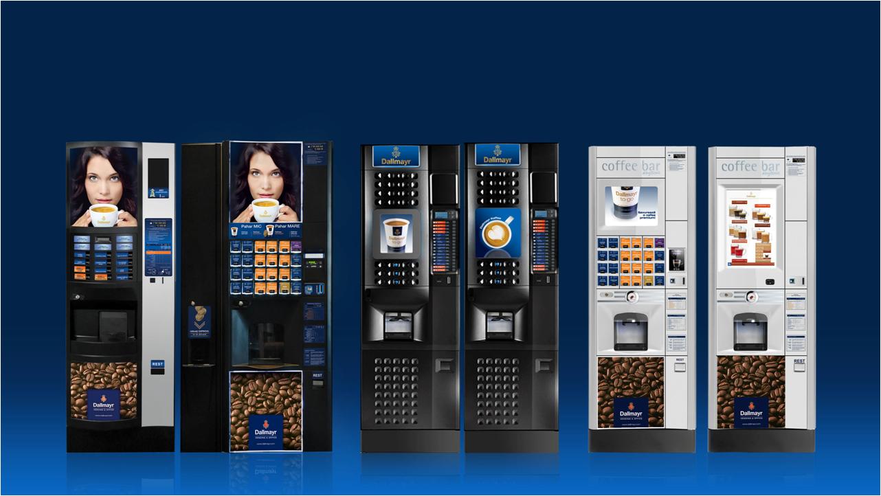 automate cafea verticale